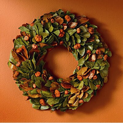 TAG Foxy Fall Mini Pumpkin Wreath