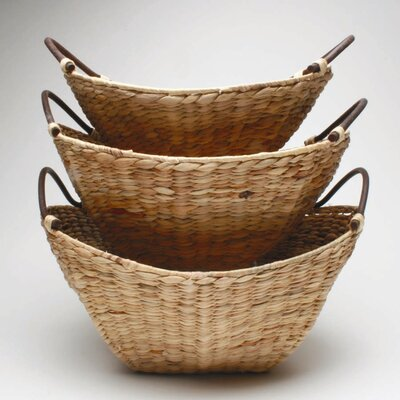 TAG Baskets Hyacinth Basket