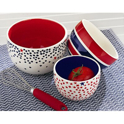 Mystic Stars Nested Bowl (Set of 3)