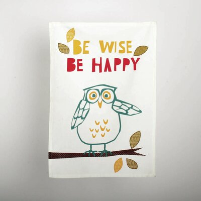 TAG Owl Dishtowel
