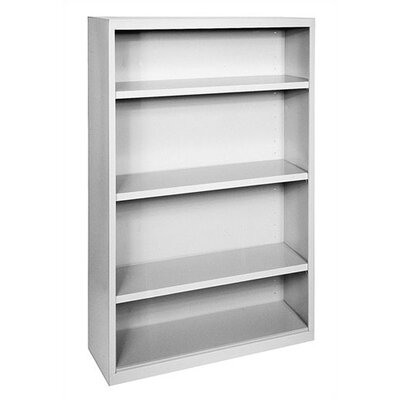 "Sandusky Cabinets 52"" H Four Shelf Bookcase"