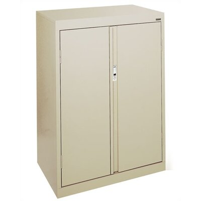 Sandusky Cabinets Systems Series Three Shelf Counter Height Storage