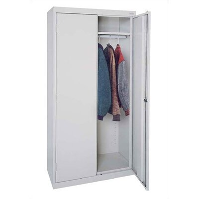 Sandusky Cabinets Elite Series Deep/Tall Mobile Wardrobe Cabinet