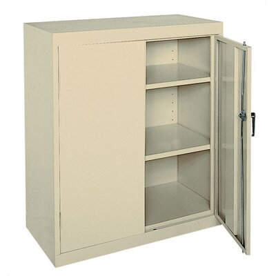 "Sandusky Cabinets 36"" Easy Counter Height Storage Cabinet"