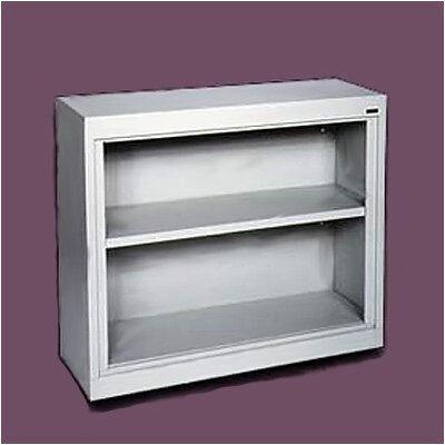"Sandusky Cabinets 30"" H Deep Two Shelf Bookcase"