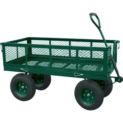 Sandusky Cabinets Jumbo Crate Wagon in Green