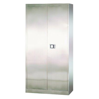 "Sandusky Cabinets Stainless Steel 36"" Storage Cabinet"