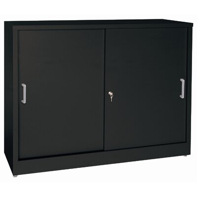 Sandusky Cabinets 29&quot; Storage Cabinets with Sliding Door