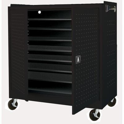 Sandusky Cabinets Mobile Laptop Security Cabinet with Charging System