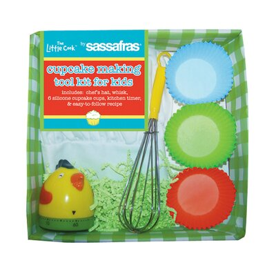 Sassafras Kid's Cupcake Making Tool Kit