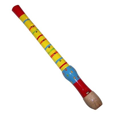 Sassafras Kid's Striped Recorder