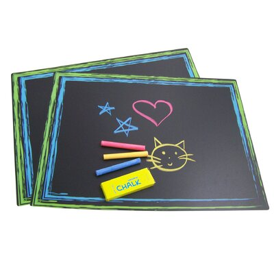 Sassafras Chalkboard Placemats (Set of 2)