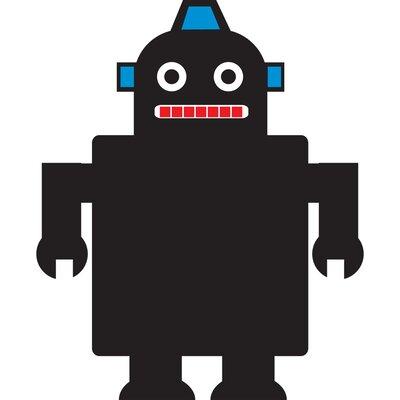 Sassafras Chalk It Up Robot 1.94' x 1.52' Chalkboard