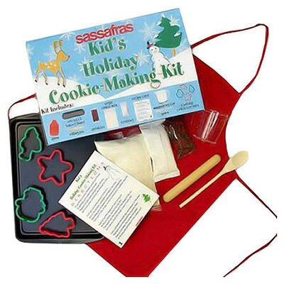 Sassafras Kid's Deluxe Holiday Cookie Making Kit