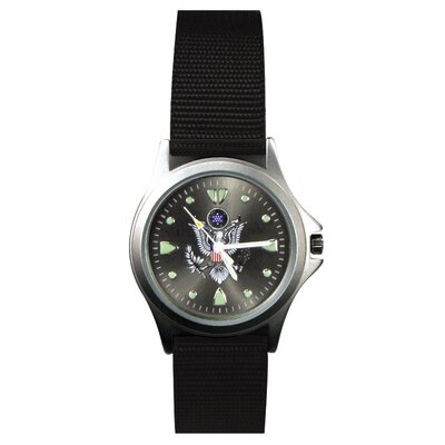 Military Field Watch with U.S. Army Logo