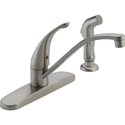 "Peerless Faucets 2.6"" Single Handle Centerset Kitchen Faucet"