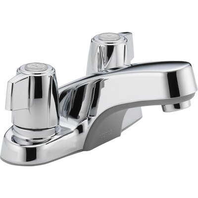 Centerset Bathroom Faucet with Double Handles - P241LF