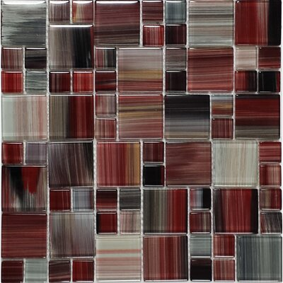 Contempo Abbott Random Sized Mosaic Tile in Multi