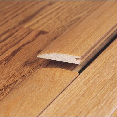"Moldings Online 78"" Solid Hardwood Unfinished Cherry Reducer for 3/8"" Floors"