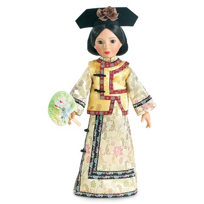 Carpatina Qing Dynasty Princess Outfit for 18&quot; Slim Dolls