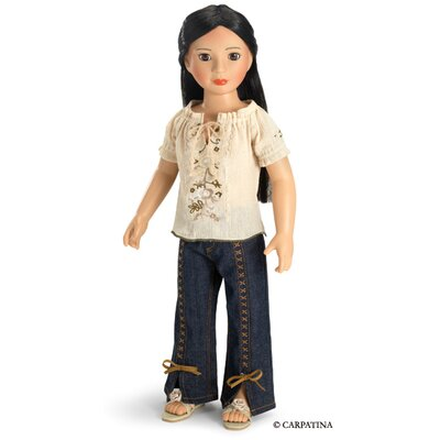 "Carpatina Fun Chic Outfit for 18"" Slim Dolls"