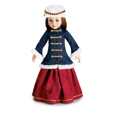 "Carpatina Grand Duchess Outfit for 18"" Slim Dolls"
