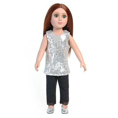 Carpatina Shimmer Outfit for 18&quot; Slim Dolls