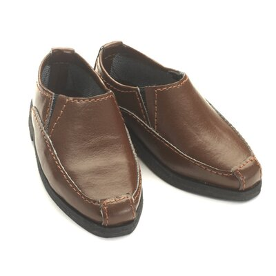 "Carpatina Loafers - Shoes for 18"" Slim Boy Dolls"