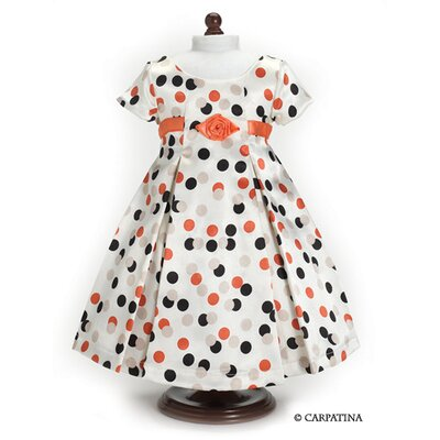 Carpatina American Girl Dolls Vintage Polka Dress