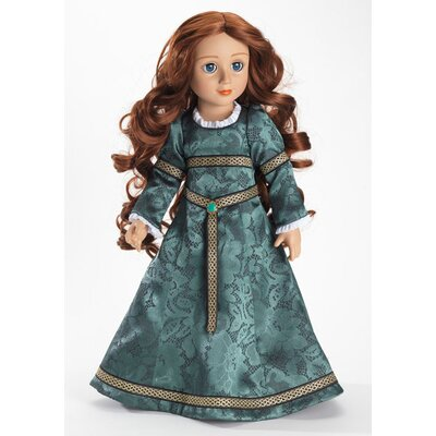 Carpatina Rowena Doll with Celtic Princess Slim Doll