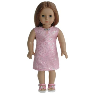 Carpatina American Girl Dolls Parfait Sequins Dress