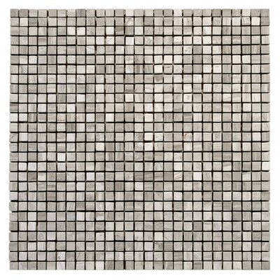 "Solistone Haisa Marble 12"" x 12"" Micro Mosaic in Haisa Light"