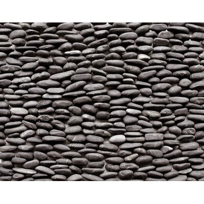 Standing Pebbles Random Sized Interlocking Mesh Tile in Lamina