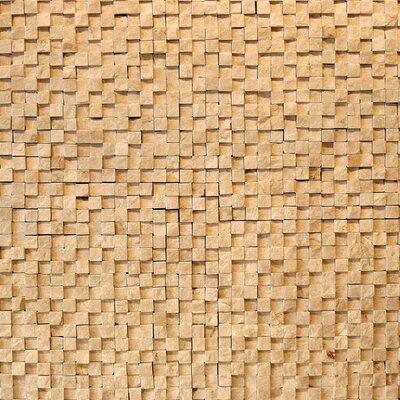 """Solistone Cubist 12"""" x 12"""" Mesh Mosaic in Dufy"""
