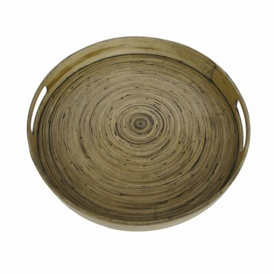 Be Home Round Serving Tray