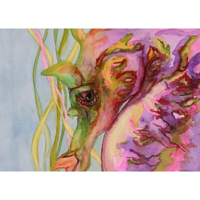 Blackwater Design Cousins Series Sable the Seahorse 16 x 20 Wrap Canvas