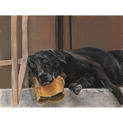 Blackwater Design Boots 11 x 14 Wrap Canvas