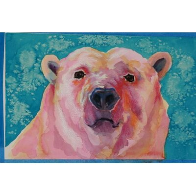 Blackwater Design Cousins Series Beatrice the Bear 22 x 16 Gilcee Print