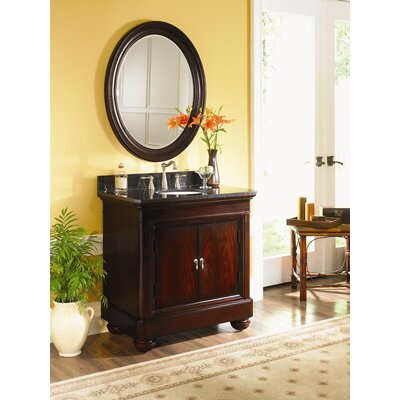"Kaco International 30"" Vanity in Merlot without Top"
