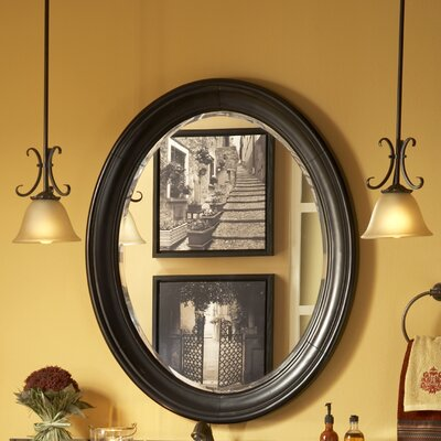 Large Distressed Vanity Mirror
