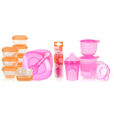 Vital Baby Baby Girl Weaning Kit in Pink