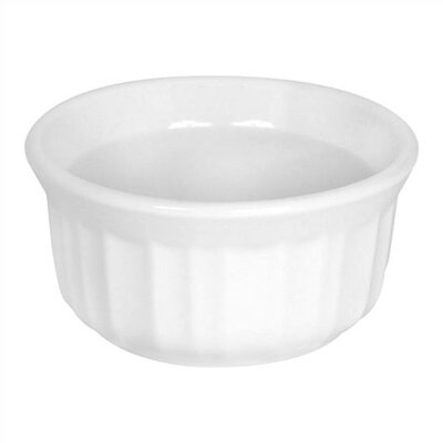 French White 4 oz. Ramekin