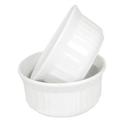 Corningware French White 7 oz. Ramekin Twin Pack