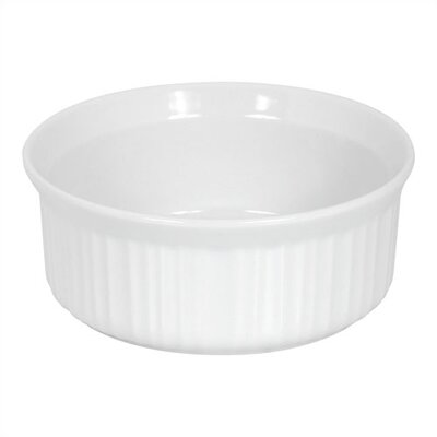Corningware French White 1.5 Qt. Round Casserole Dish