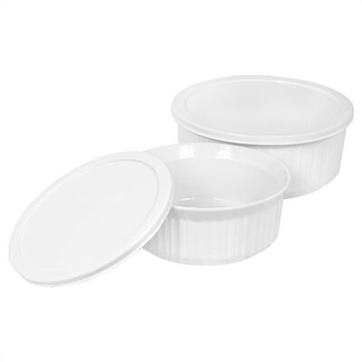 Corningware French White Round Mini Set