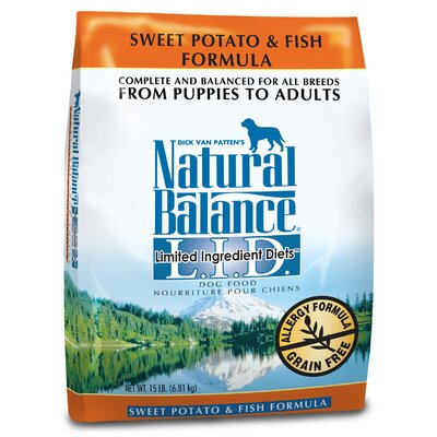 Natural Balance Limited Ingredient Diets Sweet Potato and Fish Formula Dry Dog Food