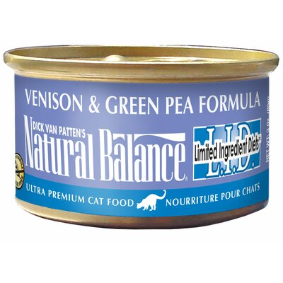 Natural Balance Limited Ingredient Diet Venison and Green Pea Canned Cat Food