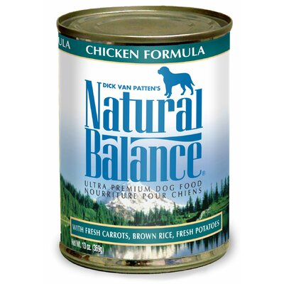 Natural Balance Chicken Formula Wet Dog Food (13-oz, case of 12)