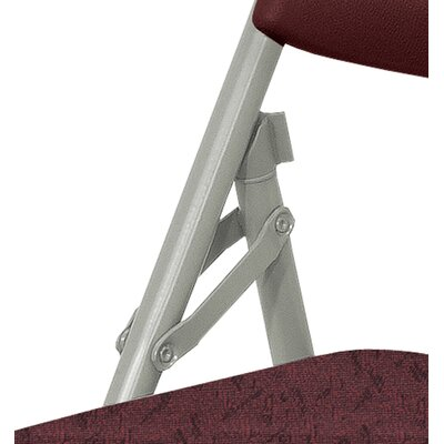 National Public Seating 1200 Series Vinyl Upholstered Folding Chair