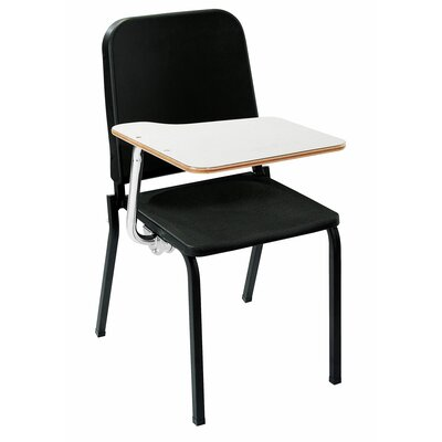 National Public Seating Melody Stack Chair with Tablet Arm
